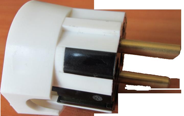 Бял щепсел Todi 220VAC/16А