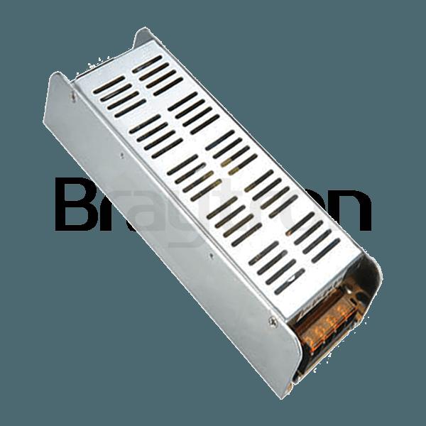 LED захранване 12VDC 200W 220VAC 16.5A, IP20, невлагозащитено, BY02-02000