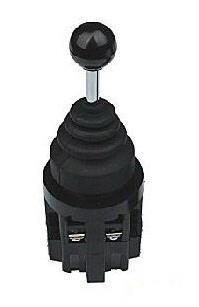 Задържащ джойстик JK-1B2 двупозиционен, 240VAC, 10A, SPST 1NO