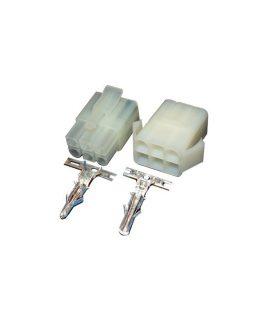 Съединители кабел-кабел 6.20 мм