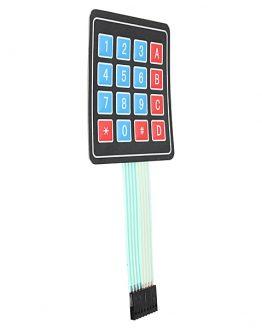 Самозалепваща мембранна клавиатура 4x4 /P011192/