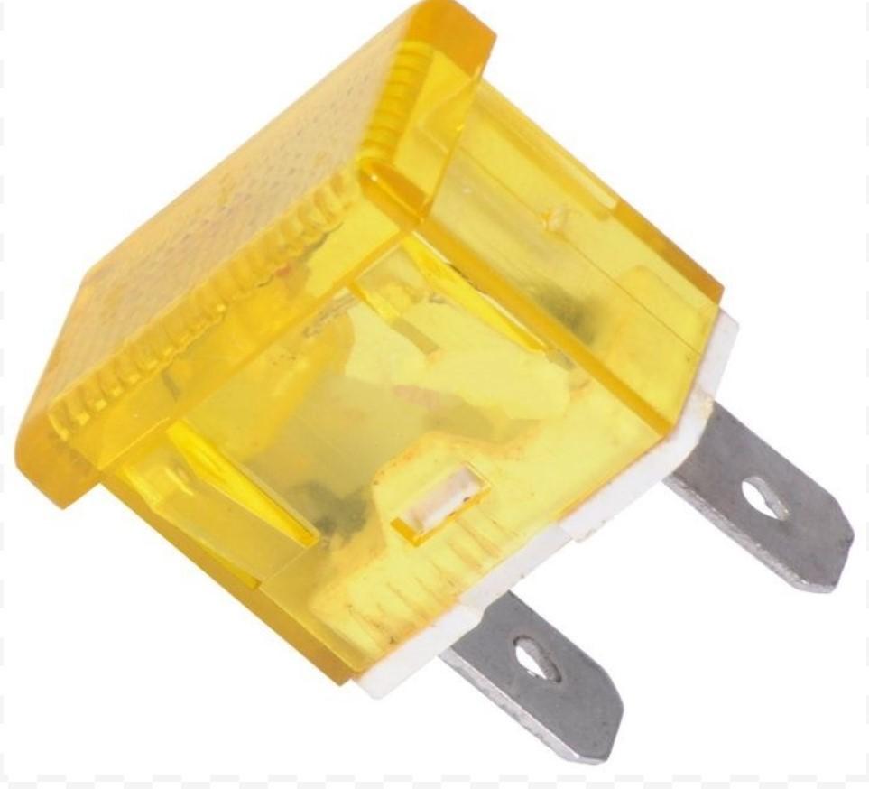 Индикаторна LED лампа XH009 12VDC жълта