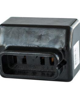 Индустриален бакелитен контакт трифазен 380VAC/25A