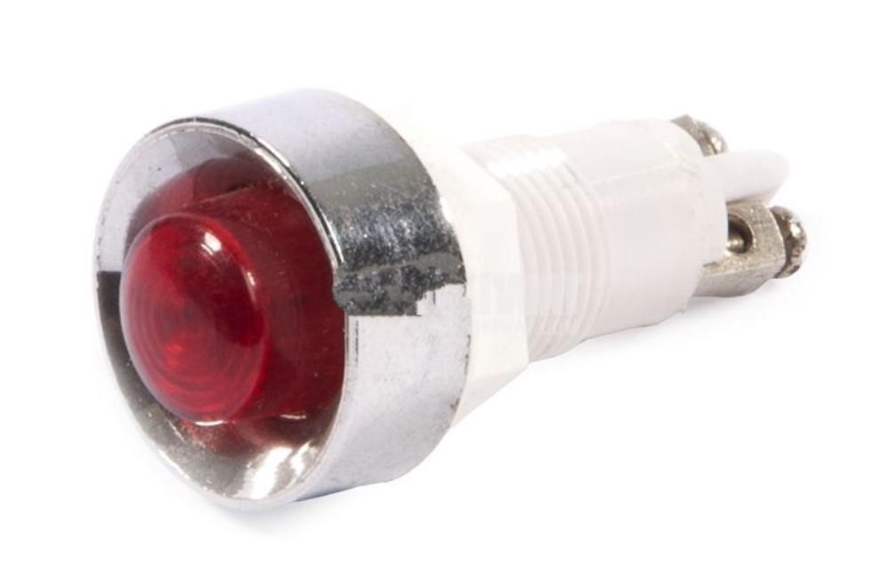 Индикаторна LED лампа XH020 220VAC червена