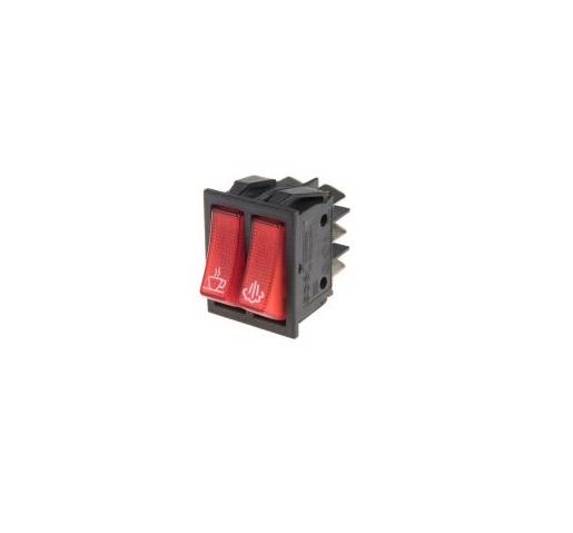 Клавишен превключвател OFF-ON 250VAC/16A SPST