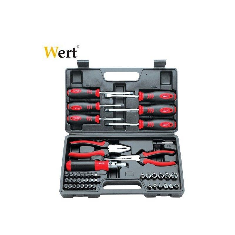 Комплект инструменти Wert 2245 45 части