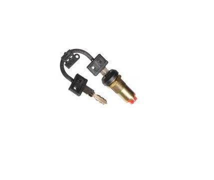 Превключвател с ключ OFF-ON-ON 250VAC/10A SPST