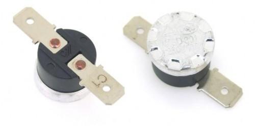 Биметален термостат BT-H80H 80°C NC 250VAC/10A
