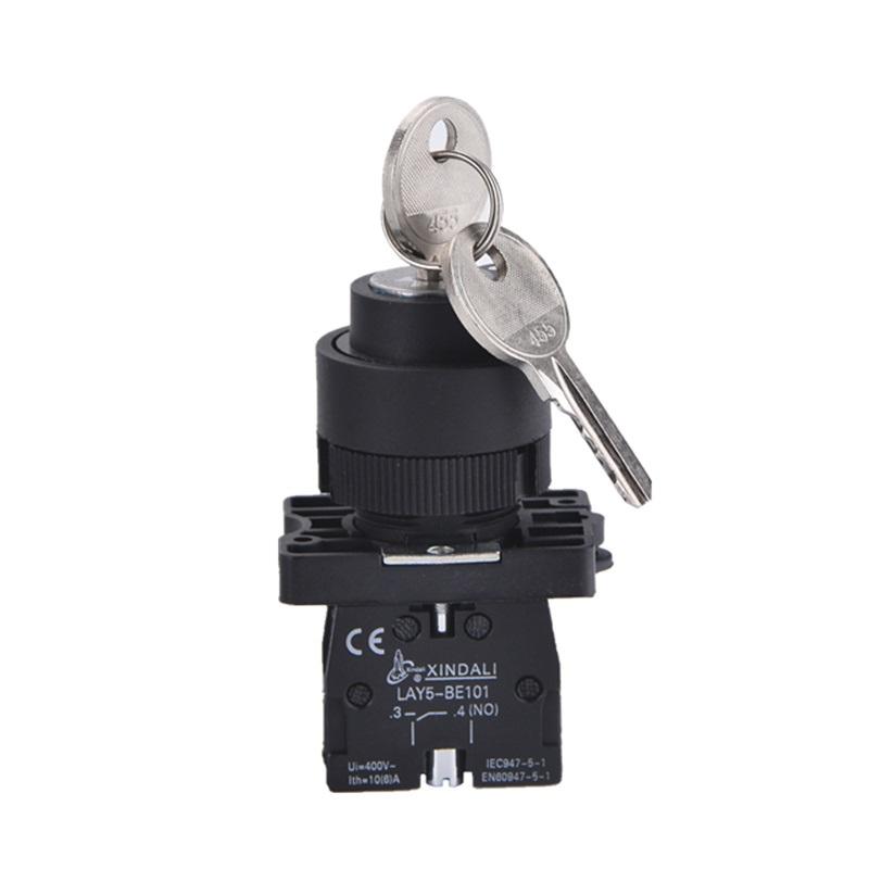 Превключвател с ключ LAY5-EG21 240VAC/10A SPST