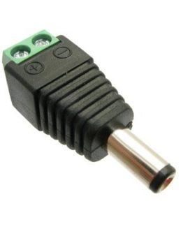 Букса захранваща 5.5х2.1х11мм женска кабелна клема