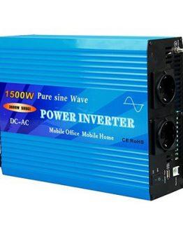 Инвертор TY-1500-S 1500W 12VDC 220VAC, синусоидален
