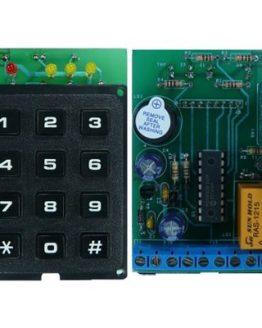 Кодова брава HK1587 с PIC16F648