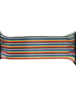 Комплект тестови кабелчета F/F AWG26,200mm,40бр. женски/женски