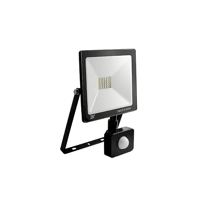 LED прожектор със сензор 10W студенобял, IP65