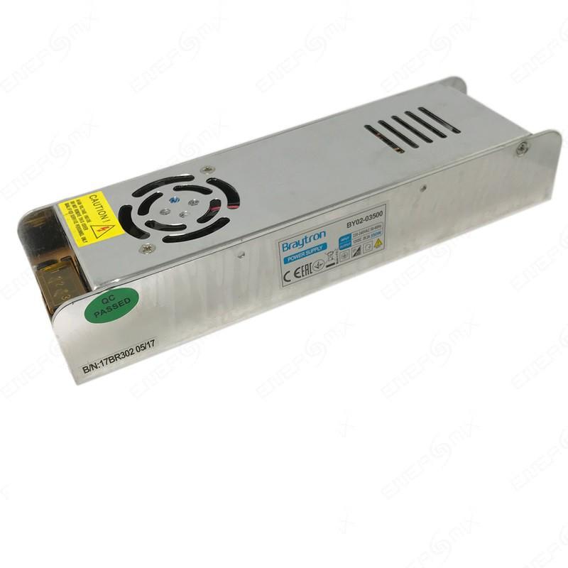 LED захранване 12VDC 350W 220VAC 29.2A, IP20, невлагозащитено, BY02-03500