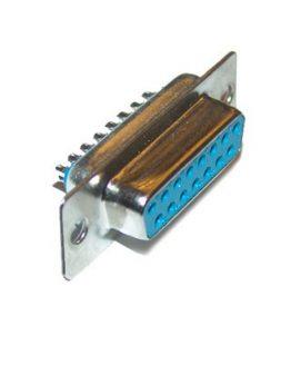 Съединител D-SUB 15P женски кабелен