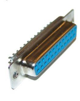 Съединител D-SUB 25P женски кабелен