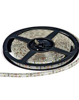 LED лента зелена 12VDC SMD3528,4.8W/m,60leds, IP21