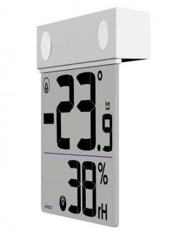 Термометър и влагомер RST01278, прозрачен LCD дисплей