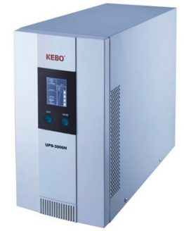 UPS устройство UPS-3000H 3000VA 2100W, 220VAC, LCD, външни батерии, онлайн, синусоидален, RS-232