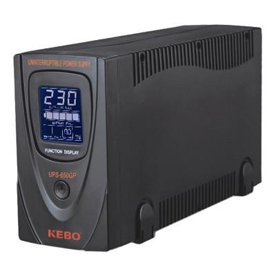 UPS устройство UPS-650GP 650VA 400W, 220VAC, LCD рег. дисплей, RS-232