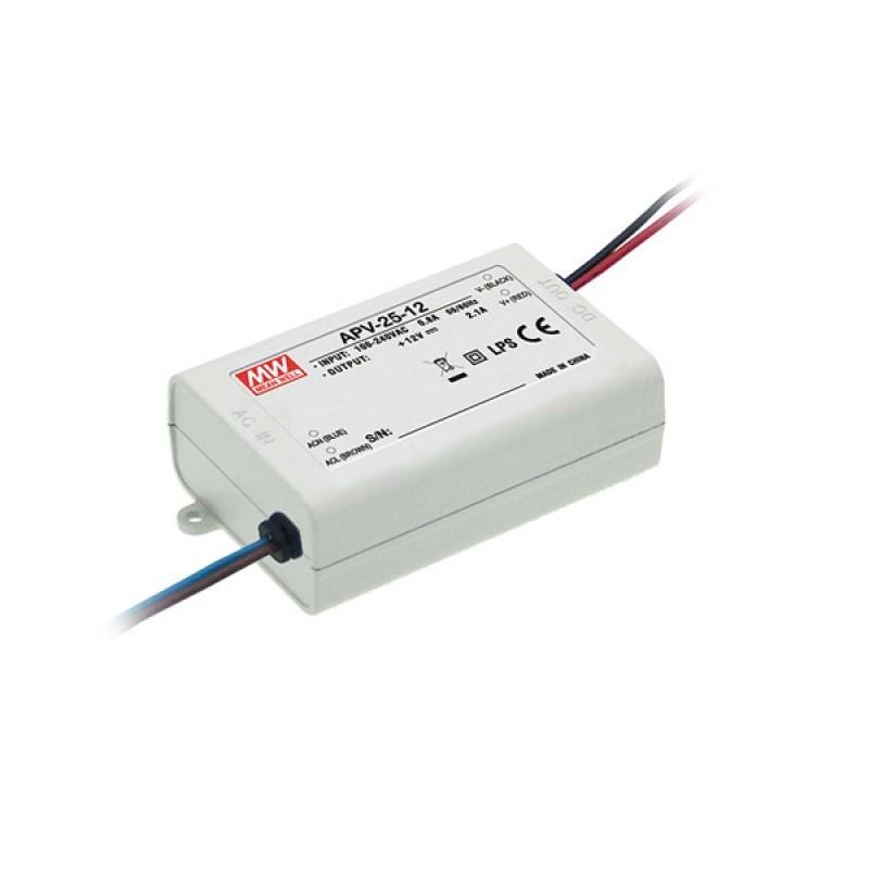 LED захранване APV-25-12V 12V 2.1A 25W