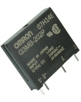 G3MB-202P солид стейт реле, полупроводниково, 12VDC, 2A/240VAC, OMRON
