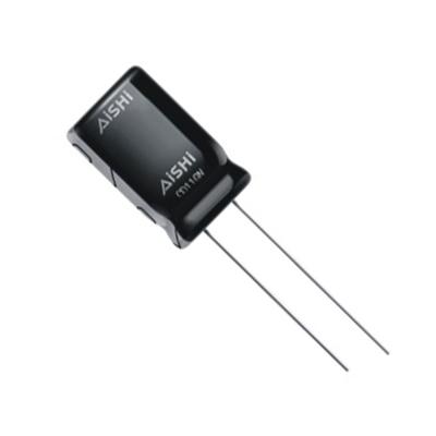 Кондензатор AISHI 2200uF/16V, 105C, WH, ф12.5х20мм