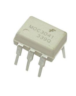 Оптрон MOC3041, триак драйвер, DIP-6