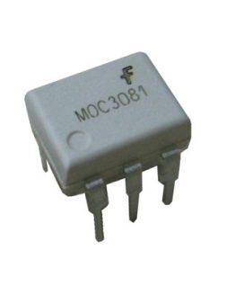 Оптрон MOC3081, триак драйвер, DIP-6