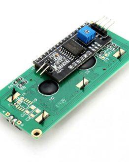 I2C LCD дисплей 16x2 синя подсветка /P058.018/