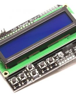 Платка LCD16x2 GREEN + Keypad Shield за ARDUINO /P090.048/