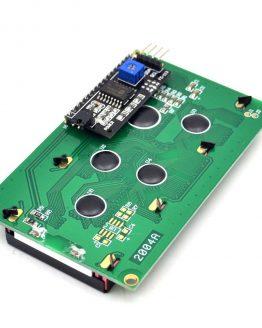 I2C LCD дисплей 20x4 синя подсветка /P058.021/