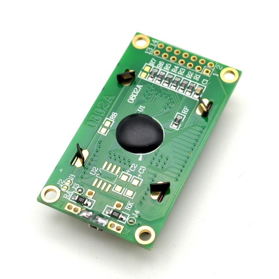 0802A LCD дисплей 8x2 LED подсветка, GREEN /P058.020/