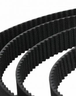 GT2-6 зъбен ремък (синхронизиращ ремък), 6мм, ЧЕРЕН /P095.013/