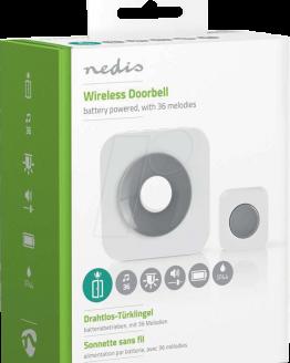 Безжичен звънец DOORB112WT 90dB 150м