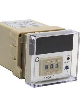 Термоконтролер E5C4 220VAC 0-400°C тип K