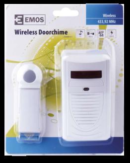 Безжичен звънец P5705 230VAC 75dB бял