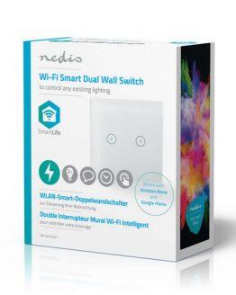 Wi-Fi Smart WIFIWS20WT двоен ключ сх.5 2A/230VAC