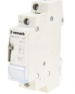 Импулсно реле EPN510 еднофазно 220VAC NO