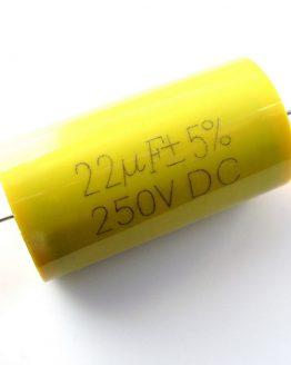 Полипропиленов кондензатор 22uF/250V ф32x45мм