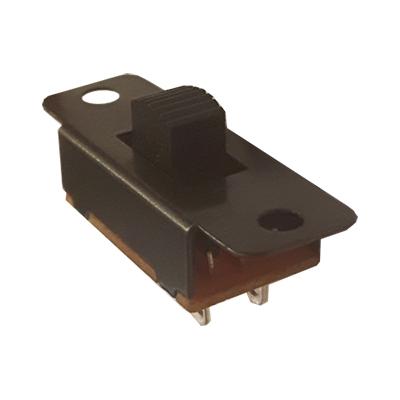 Превключвател плъзгащ 13x23mm, 6P 2xON-OFF-ON, 3A/250V /258345/