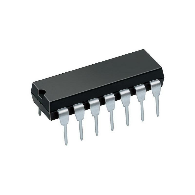 К555ЛП5 интегрална схема TTL, DIP-14 (SN74LS86)
