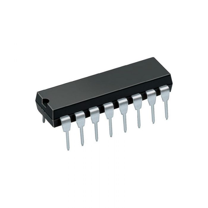 К555КП13 интегрална схема TTL, DIP-16 (74LS298)