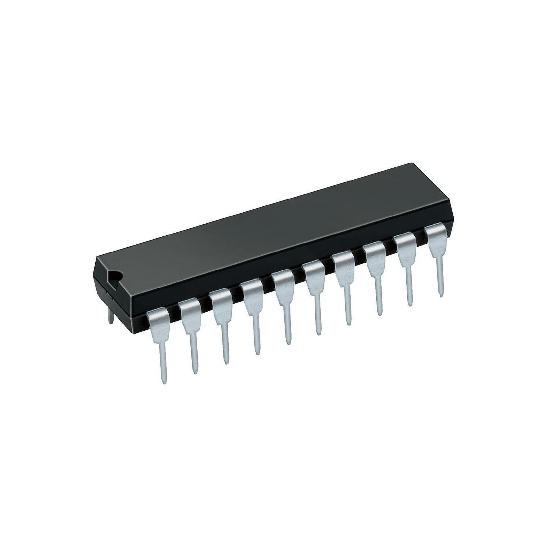 К555ИР27 интегрална схема TTL, DIP-20, (74LS377)