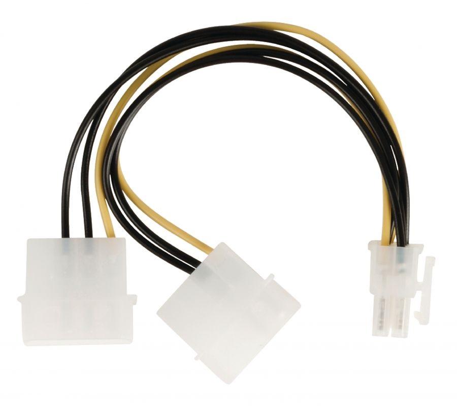 Кабел 2xMolex към PCI express 150мм