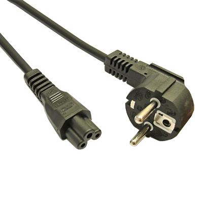 Захранващ кабел 3x0.75мм2 2м C5