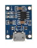 Зарядно за LI-ION батерии microUSB 4.5-5.5VDC