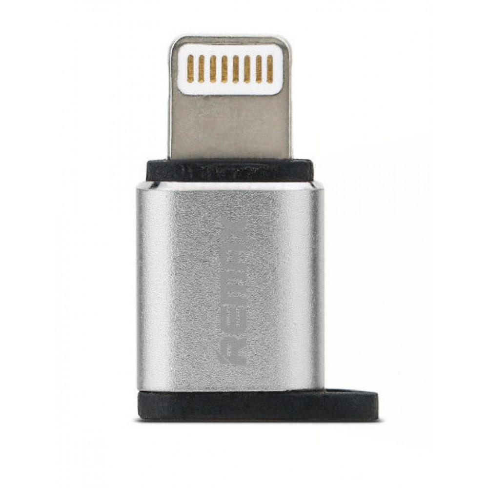 Преходник Lightning port към micro USB