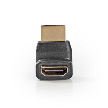 Преходник HDMI мъжки/HDMI женски ъглов